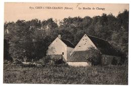 58 CHEVANNES CHANGY - Le Moulin De Changy - Cpa Nièvre - France