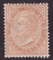 Regno, 10 C. Ocra Del 1863 Nuovo * (Diena)           -CD64 - Nuevos