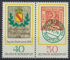 BRD 1978 / MiNr.   980 – 981 Zusammendruck   ** / MNH  (K_60_46) - [7] West-Duitsland
