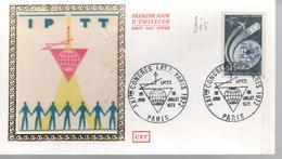 FDC 1er Jour - 1ER JUILLET 1972 - PARIS (bis) - 1970-1979