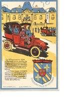 CPA Souvenir 40ème Anniversaire Départ Taxis De La Marne - Timbre YT 984 Avec Beau Cachets Du 5 9 1954 Gagny - Gagny