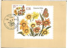 ALEMANIA DDR  FLORES FLOWER - Vegetales