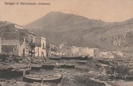 Cartolina - Palermo - Spiaggia Di Sferracavallo - Palermo