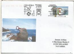 SAN SEBASTIAN GUIPUZCOA CC CON MAT PRIMER DIA 12 MESES 12 SELLOS SIDRA LAUBURU - 1931-Oggi: 2. Rep. - ... Juan Carlos I
