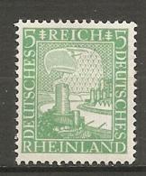 DR - Yv. N°  365 Mi:  372  ** MNH  5p  Aigle  Cote  3 Euro TBE  2 Scans - Deutschland