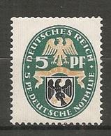 DR - Yv. N°  368 Mi:  375  *  5+5p  Prusse  Cote  0,75 Euro BE  2 Scans - Deutschland