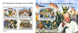Z08 TG190535ab TOGO 2019 Fall Of Berlin Wall MNH ** Postfrisch - Togo (1960-...)