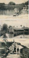 LOT N°7  LOT DE 17 CPA DE LAVOIRS ET LAVEUSES DE FRANCE - Postcards