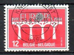 BELGIQUE. N°2130 Oblitéré De 1984. Pont De La Coopération. - 1984