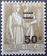 R1615/1719 - 1934 - TYPE PAIX - N°298 NEUF** - France