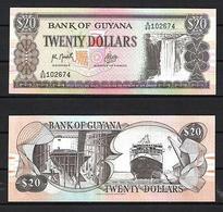 Billet Guyana 20 Dollars - Guyana