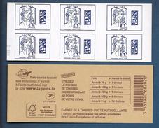 2015 Carnet Adhésif - BC 1176 Datamatrix Europe Bleu 6 Timbres Neuf** Non Plié / MA06 - Booklets