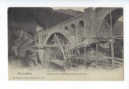 Albula-Bahn - Solisbrücke 42m Spannweite, 90 M Hoch - Pont En Construction - GR Grisons