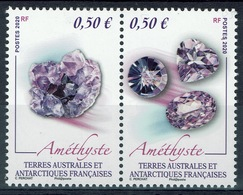 FSAT (TAAF), Mineral, Amethyst, 2020, MNH VF - French Southern And Antarctic Territories (TAAF)