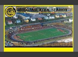 CP.STADE DE FOOTBALL.BODO  NORVEGE  ASPMYRA  STADION # D.M 009 - Voetbal
