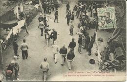 * TONKIN , Yen-Thé , MOTRANC , Les Blessés Du Combat Du 11 Février , 10° Colonial , CPA ANIMEE , 1910 - Viêt-Nam