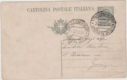 8622.  Cartolina Postale Intero - Per Sergente Alpini Da Udine A Gorizia - 1920 - 1900-44 Victor Emmanuel III
