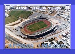CP.STADE DE FOOTBALLLIMASSOL   CHYPRE STADION  TSIRION # D.M 007 - Fútbol