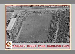 CP.STADE DE FOOTBAL. WAIKATO  NOUVELLE - ZELANDE  RUGBY PARK HAMILTON 1956 # D.M 006 - Voetbal