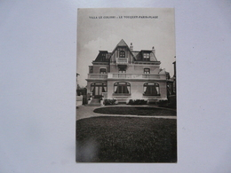 CPA 62 PAS DE CALAIS - LE TOUQUET : Villa Le Colibri - Le Touquet