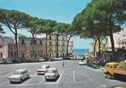 S.MARIA DI CASTELLABATE - SALERNO - PIAZZA LUCIA - BAR CON INSEGNA PUBBLICITARIA E CAMION BIRRA PERONI - 1983 - Salerno