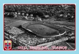 CP.STADE DE FOOTBAL. OSLO  NORVEGE  ULLEVALL STADION  1956 # D.M 005 - Voetbal