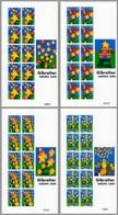 Europa Cept - 2000 - Gibtaltar - 4.Sheetlet Of 10 Complete Set ** MNH - 2000