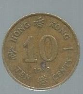 HONG KONG 10 Cents 1982 -   Pieb22311 - Hongkong