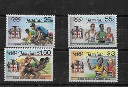 Serie De Jamaica Nº Yvert 598/01 ** DEPORTES (SPORTS) - Jamaica (1962-...)