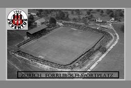 CP.STADE DE FOOTBALL. ZURICH   SUISSE   FORRLIBUCH  SPORTPLATZ 1925   # D.M 001 - Voetbal