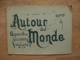 AUTOUR Du MONDE, ITALIE  Fascicule V Aquarelles Souvenirs Voyages - Art