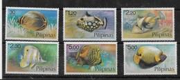 Serie De Filipinas Nº Yvert 1076/81 ** PECES (FISHES) - Filipinas