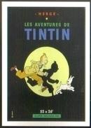 Carte Postale : Les Aventures De Tintin (film Cinéma Affiche) Illustration Hergé - Hergé