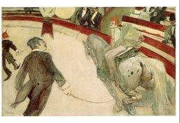 """CPM FRANCE NEUVE 1991 - """"YVETTE GUILBERT SALUANT LE PUBLIC"""" DE HENRI DE TOULOUSE-LAUTREC, 1894 - - Peintures & Tableaux"""