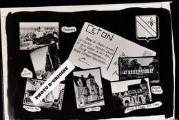 61 - CETON - MULTIVUES - ESSAI PHOTO POUR CREATION DE CARTES POSTALES - Autres Communes