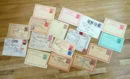 PERSIA/ IRAN Old Postal History Registered Covers & Card Selection. (16 Items) - Iran