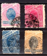 1894 Brazil - Small Set Of Used Stamps From The Standart Issue Rio Di Janeiro / Alegorien - As Per Scan - Brazilië