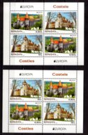 2017 Romania - Europa CEPT - Castles - Set Of 2MS MNH** MI 7207/7208 - 1948-.... Repúblicas