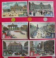 2 Chromo Liebig : Vues De Capitales. 1905. S 806.  + 4 Gratuites - Liebig