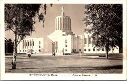 Oregon Salem State Capitol Building 1950 Real Photo - Salem