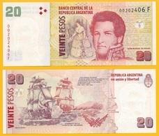 Argentina 20 Pesos P-355 ND (2003) (Suffix F) Sign. Sturzenegger & Michetti UNC - Argentina