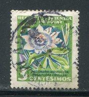 URUGUAY- Y&T N°626- Oblitéré (fleurs) - Plants