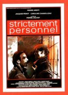 Carte Postale : Strictement Personnel (cinéma - Affiche - Film) Illustration : Enki Bilal - Other Illustrators