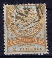 Ottoman Stamps With European CanceL  PRISTINA KOSOVO - Gebruikt