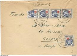 222 - 3 - Enveloppe Envoyée De Schramberg En Suisse 1946 - Franse Zone