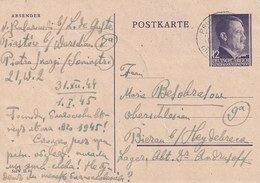 D.Bes.39/45-Generalgouvernement / 1944 / Postkarte Mi. P 13 O (4509) - Besetzungen 1938-45