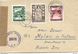 150 - 80 - Enveloppe Envoyée De Mistelbach En Allemagne 1947 - 1945-.... 2nd Republic