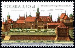 Poland 2019 Fi 4966 Mi 5116 400th Anniversary Of The Royal Castle In Warsaw - 1944-.... República