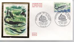 FDC - Enveloppe 1er Jour - SAUMON - 27 MAI 1972 - PARIS - FDC