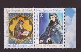 2015 - Vaticano San Gregorio Di Narek MNH** - Nuovi